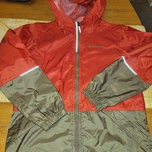 NEW! COLUMBIA Windbreaker Jacket Reflective